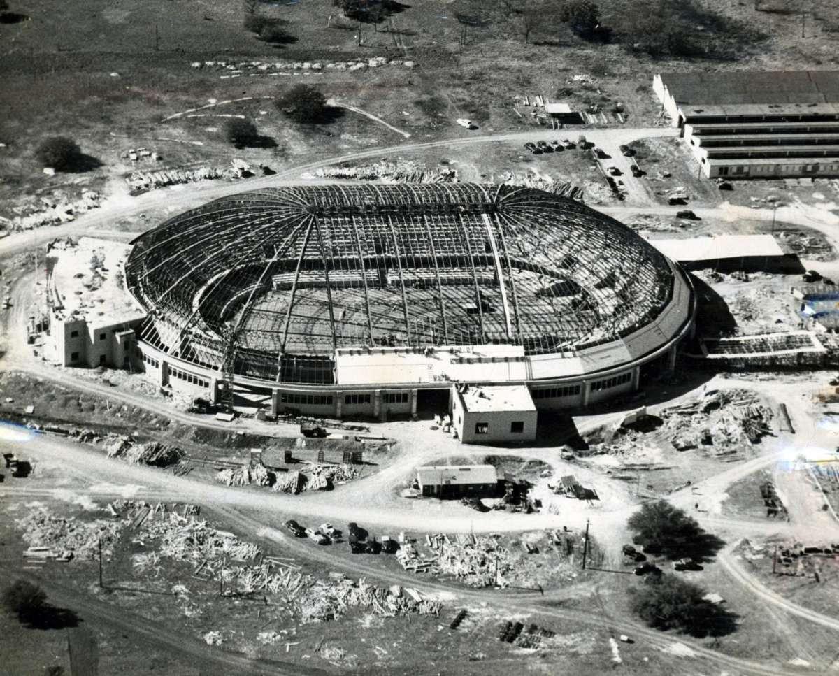 Freeman Coliseum Construction – May 1948
