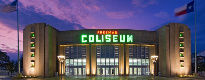 Freeman Coliseum Building Life Memories Is Our Business