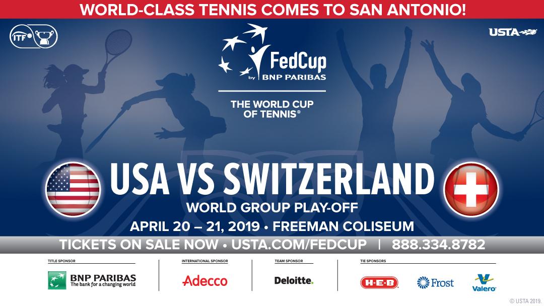 FedCup World Tennis – April 2019