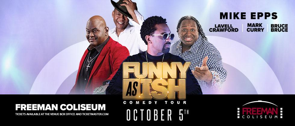 Mike Epps Funny Asish Comedy Tour Freeman Coliseum
