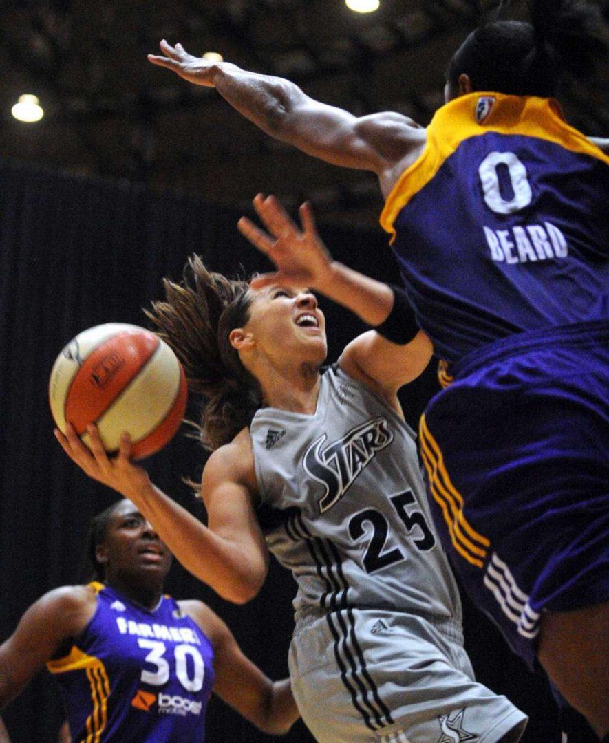 WNBA's San Antonio Stars – June 2015