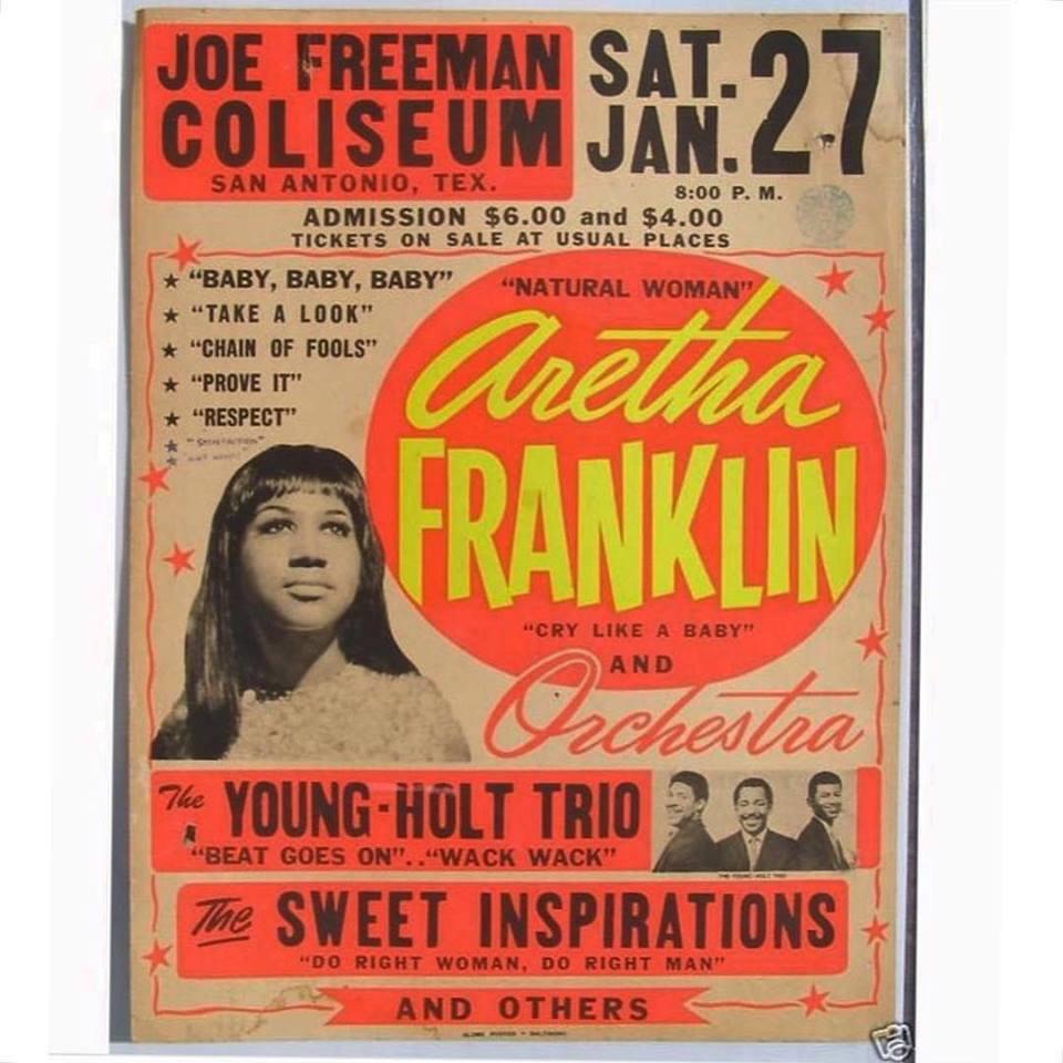 Aretha Franklin – January 1962