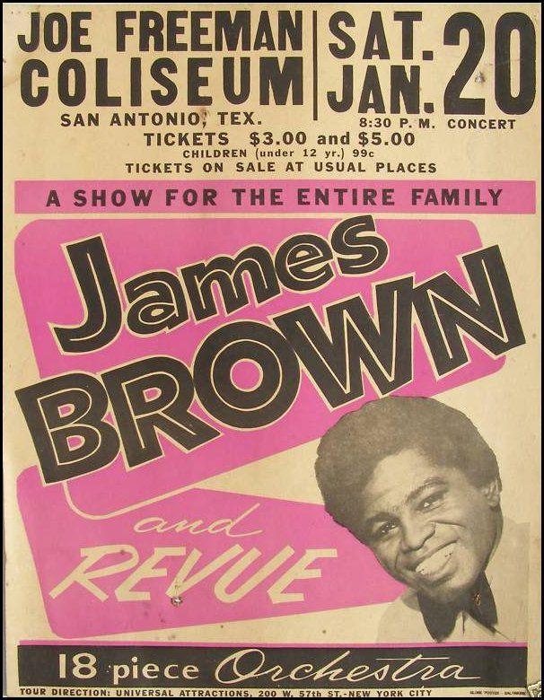 James Brown – January 1962