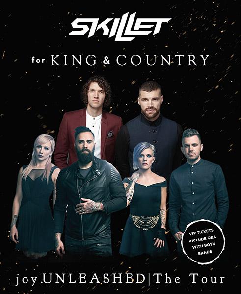 SKILLET – April 2018