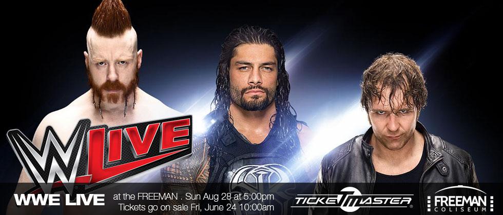 WWE LIVE – August 2016