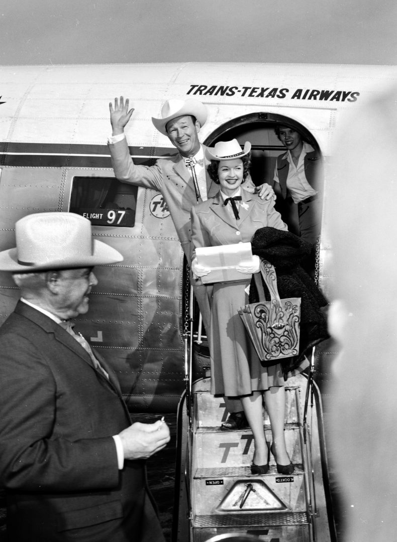 Roy Rogers and Dale Evans – February 1961